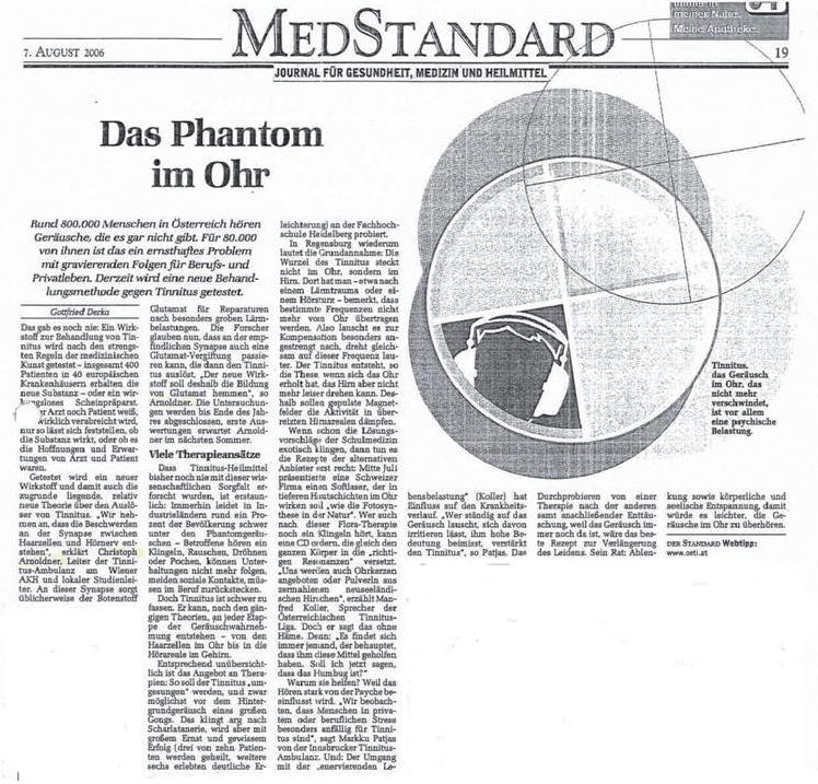 MedStandard - Das Phantom im Ohr